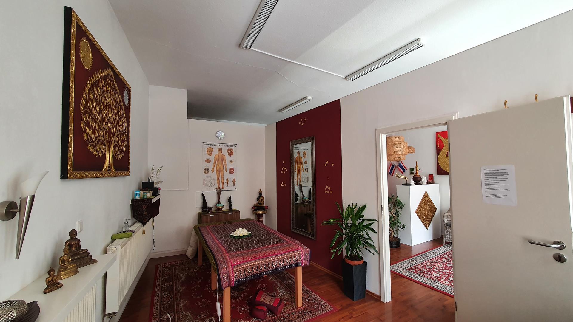 Wipha Thai Massage Studio, Behandlungszimmer Raum 1